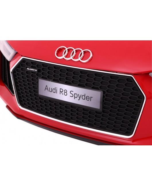 Elektrické autíčko AUDI R8 Spyder RS EVA kolesá 2.4 G červené